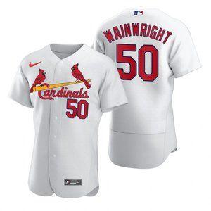 St. Louis Cardinals Adam Wainwright Jersey white